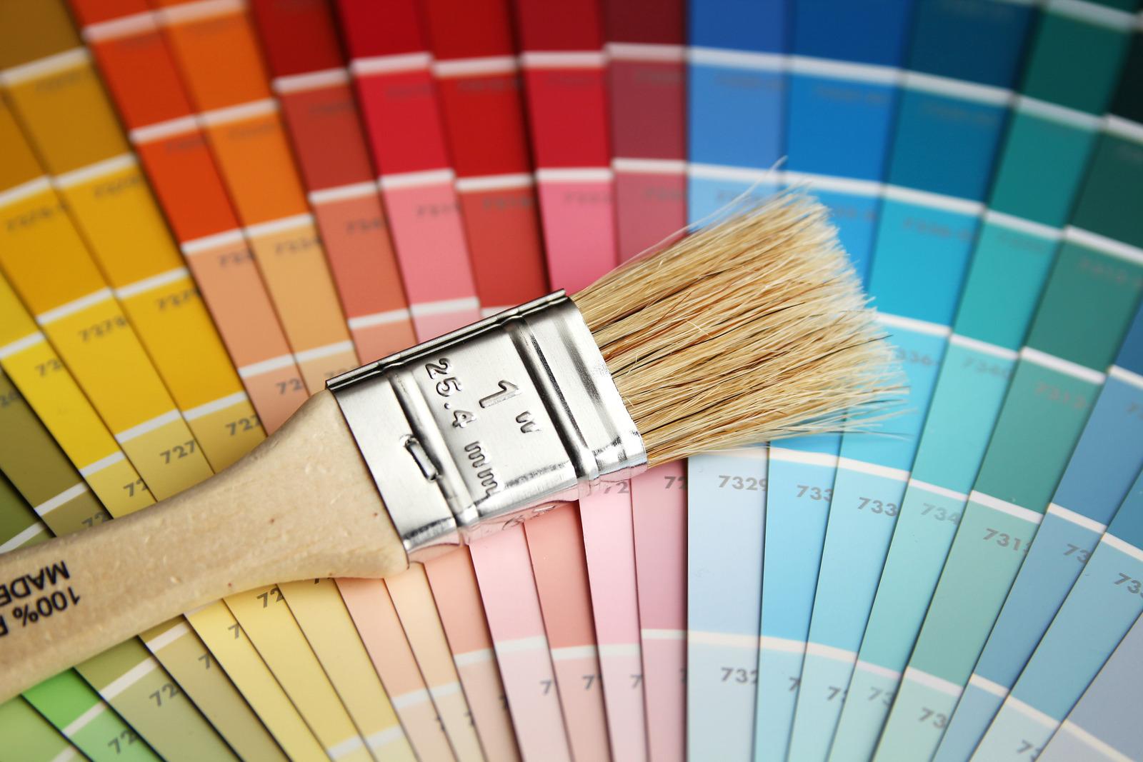 Fargepalett og malekost