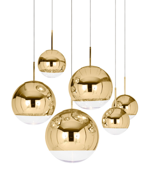 Tom Dixon Mirror Ball Gold