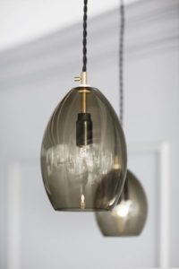 Unika Taklampe Grå