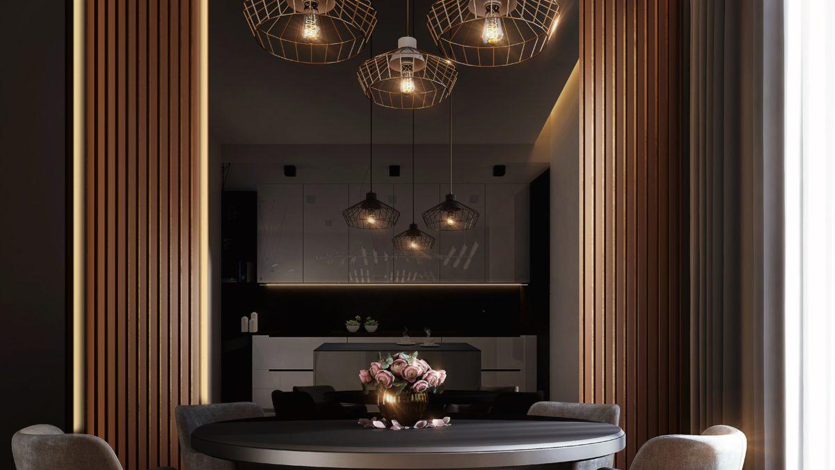 Inspirasjon til lampe over spisebordet!